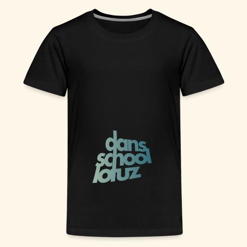 Lotuz Logo - Teenager Premium T-shirt