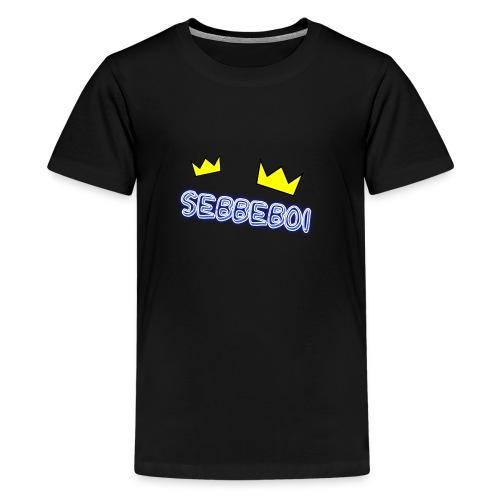 SEBBEBOI - Premium-T-shirt tonåring
