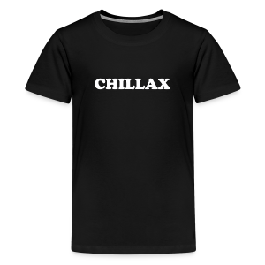 chill Collection - Premium T-skjorte for tenåringer