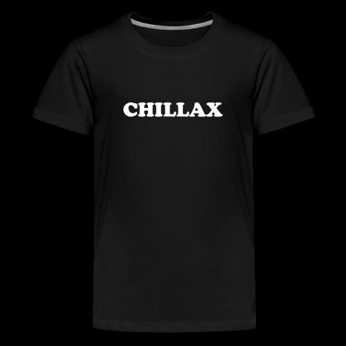 chill Collection - Premium T-skjorte for tenåringer