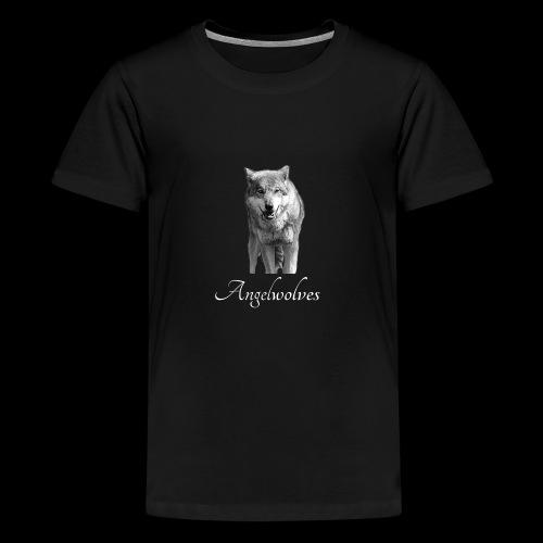 Wolfskopf Angelwolves - Teenager Premium T-Shirt