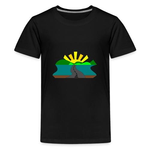 land - Camiseta premium adolescente