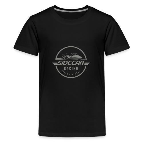 Sidecar Racing International logo clear bg 02 - Teenager Premium T-shirt