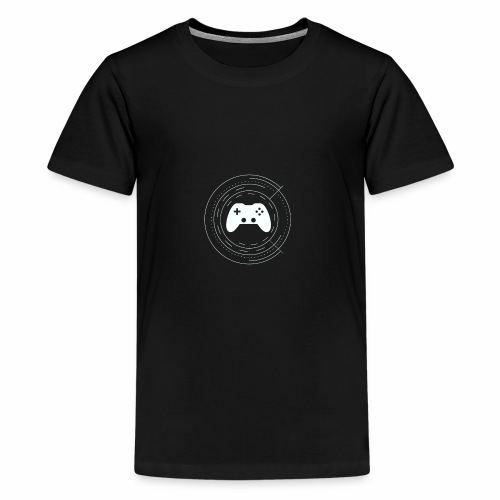KaminRot Logo Weiß - Teenager Premium T-Shirt