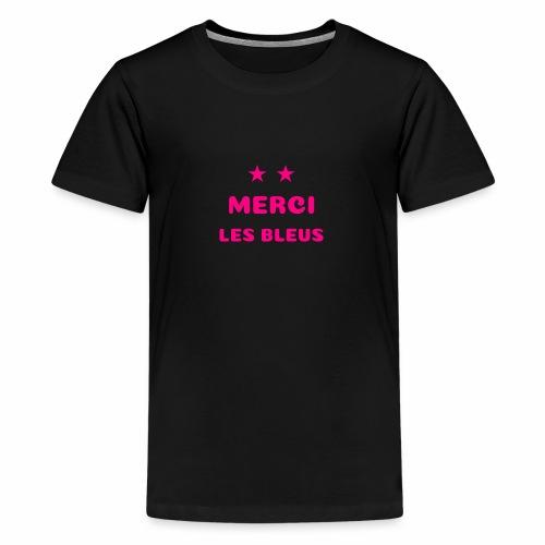 MERCI LES BLEUS - T-shirt Premium Ado