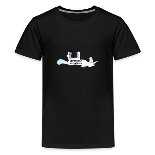 Leinsweiler Weinhoerner - Teenager Premium T-Shirt