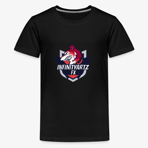 InfinityArtz FX YouTube Logo - Teenager Premium T-Shirt