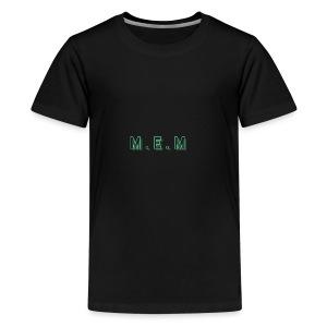 m.e.m - Premium-T-shirt tonåring