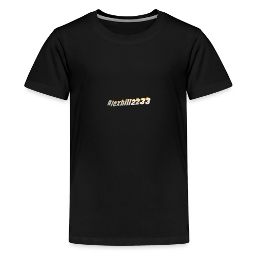 Alexhill2233 Logo - Teenage Premium T-Shirt