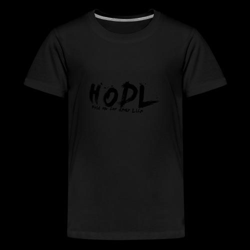 HODL | Crypto Shirt - Teenager Premium T-Shirt