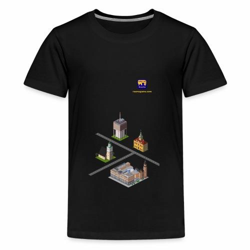 Raumagame mix - Teinien premium t-paita