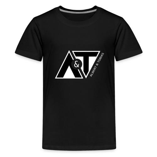 A & T - logo - S/H - Teenager premium T-shirt