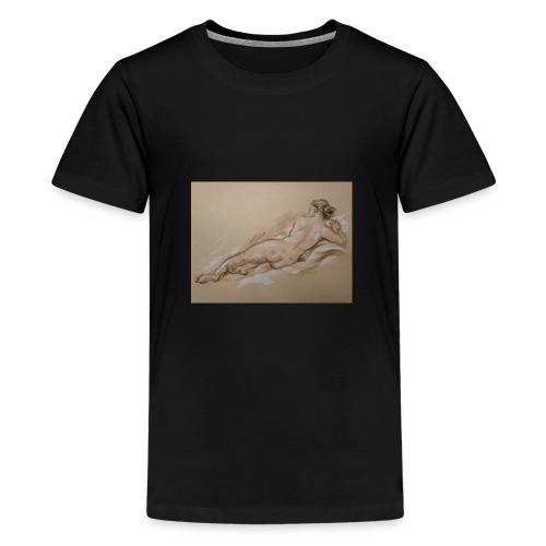 Frauenkörper - Teenager Premium T-Shirt