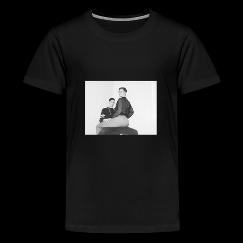 ASS - Premium T-skjorte for tenåringer