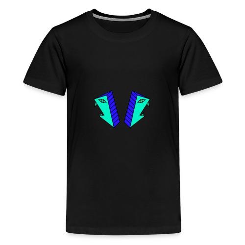 Twins - Premium-T-shirt tonåring