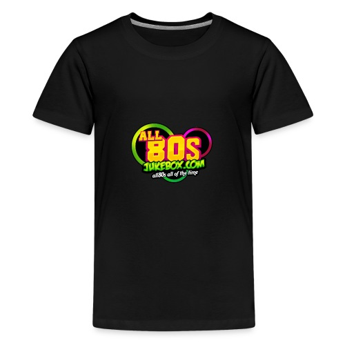 All80s Jukebox Merch - Teenage Premium T-Shirt