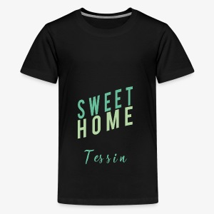 sweet Home tessin - Teenager Premium T-Shirt