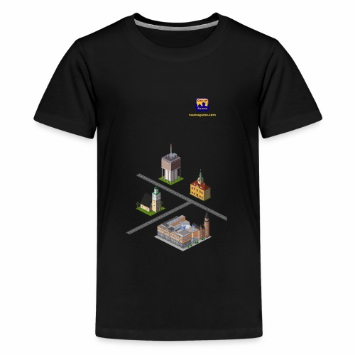 Rauma Game Mix - Teenage Premium T-Shirt