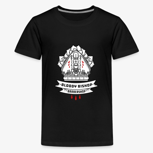 Bloody Bishop Barbershop - Teenager Premium T-shirt