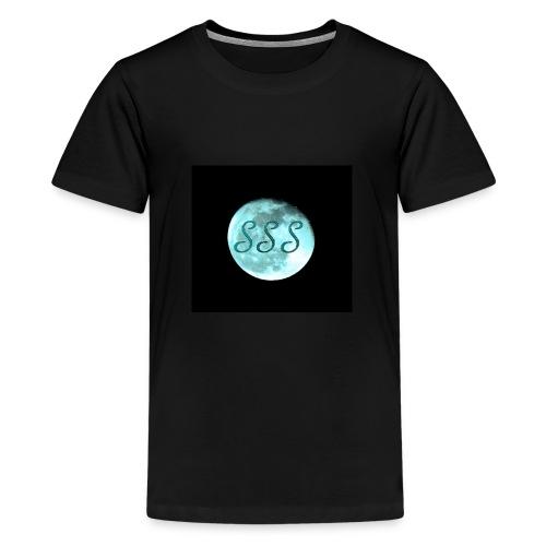 SwedishStreamStudios_Moon - Premium-T-shirt tonåring