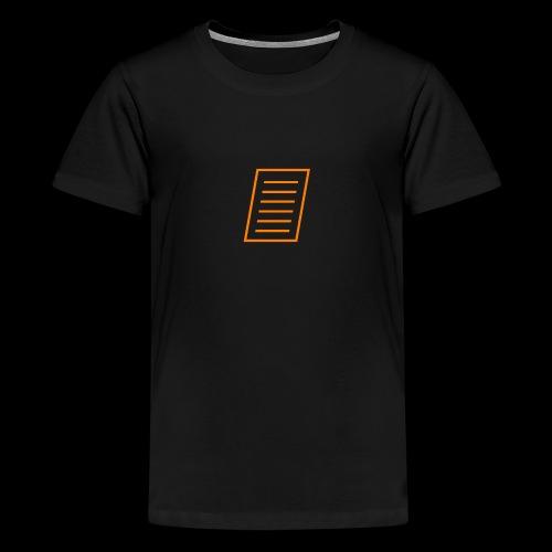 Paper - Teenage Premium T-Shirt