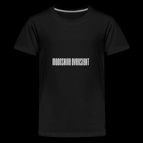 moonshine oversight blanc - T-shirt Premium Ado