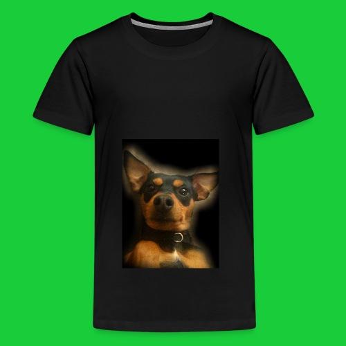 Bunny Black - Teenager Premium T-Shirt