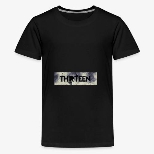 Box Logo Thirteen - Teenager Premium T-shirt