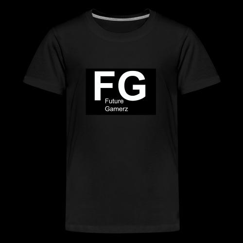 FG lofo boxed black boxed - Teenage Premium T-Shirt