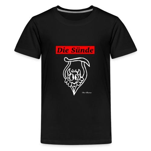 Loge DIE SÜNDE designed by antonia - Teenager Premium T-Shirt