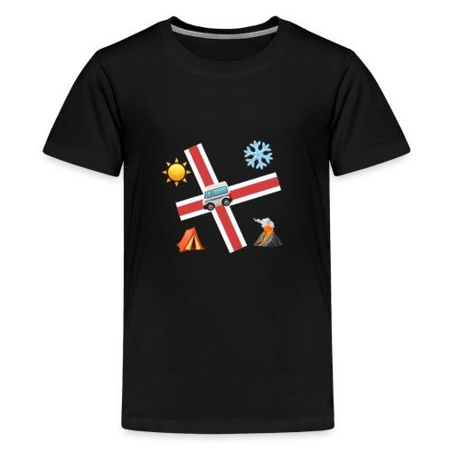Islandia - Camiseta premium adolescente