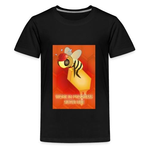 Work in progress, sister bee(RedBg) - Maglietta Premium per ragazzi