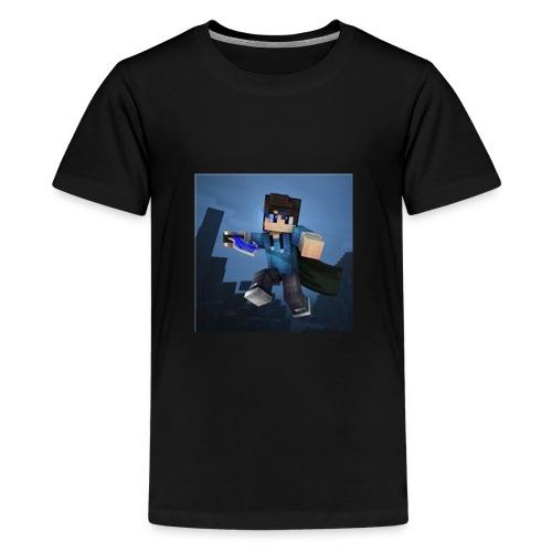 SpartaJamo's First shirt - Teenage Premium T-Shirt