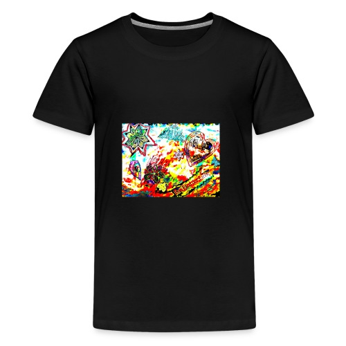 Canción de amor - Camiseta premium adolescente