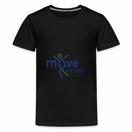 Move4Lives - Teenager Premium T-Shirt