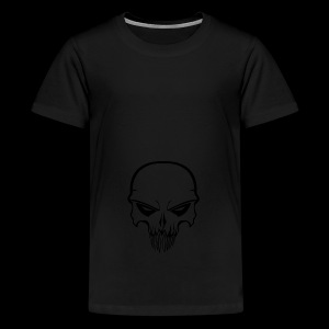 Skull - Teenager premium T-shirt