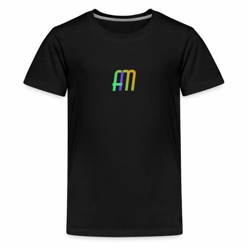 AM Logo - Teenage Premium T-Shirt