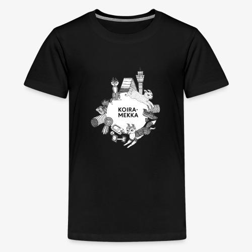 Koiramekka Original - Teinien premium t-paita
