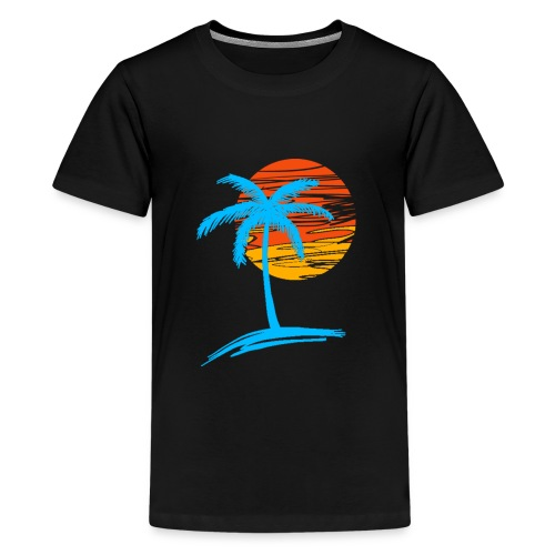 Summer palm effect - T-shirt Premium Ado