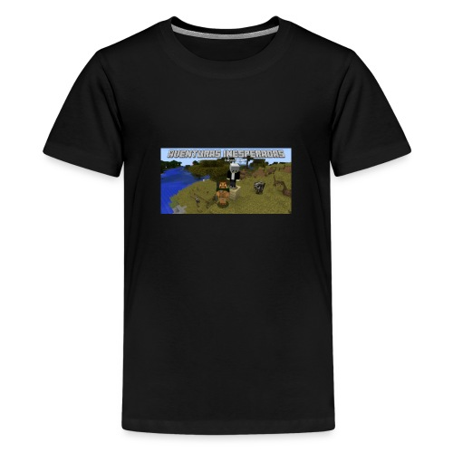 minecraft - Teenage Premium T-Shirt