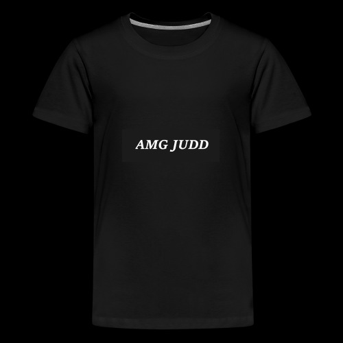 AMG logo - Teenage Premium T-Shirt