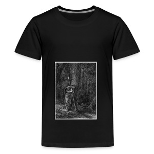 Lonely Warrior - Teenager Premium T-Shirt