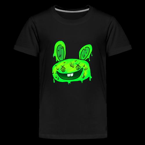 5 steps ahead Bunny - Teenage Premium T-Shirt