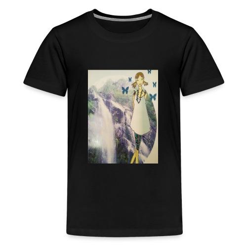 Agua - Camiseta premium adolescente