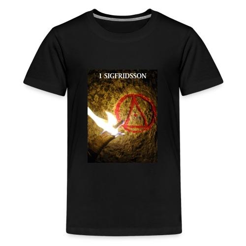 1 SIGFRIDSSON - Premium-T-shirt tonåring