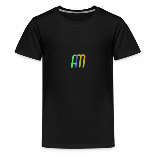 AM Logo - Teenage Premium T-Shirt