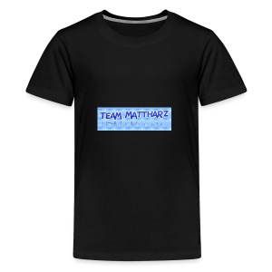 Team Mattharz T-shirt - Teenage Premium T-Shirt