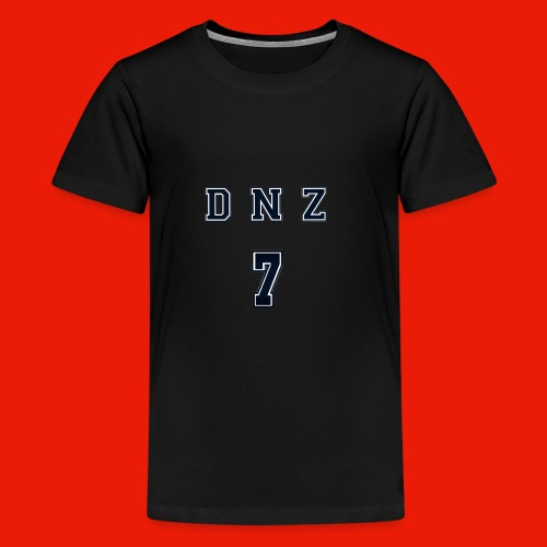 """DNZ"" COLLAGE STYLE - Premium-T-shirt tonåring"