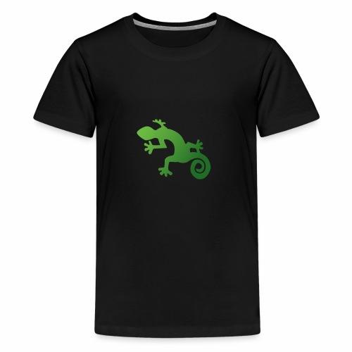Echse - Teenager Premium T-Shirt
