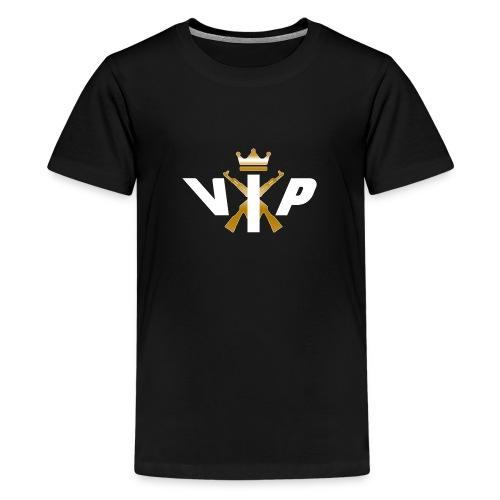 V.I.P White - Teenager Premium T-Shirt